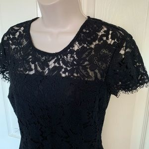 NWOT perfect Banana Republic eyelash lace dress